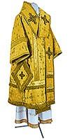 Архиерейское облачение из парчи ПГ1 (жёлтый/золото)