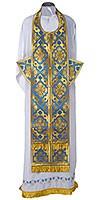 Требный комплект из шёлка Ш2 (синий/золото)