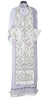 Требный комплект из шёлка Ш2 (белый/серебро)