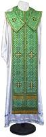 Требный комплект из шёлка Ш3 (зелёный/золото)