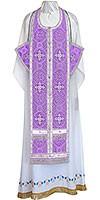 Требный комплект из шёлка Ш3 (фиолетовый/серебро)
