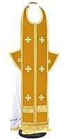Требный комплект из нем. бархата (жёлтый/золото)