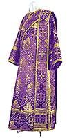 Дьяконское облачение из шёлка Ш2 (фиолетовый/золото)