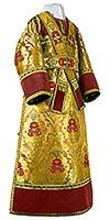 Иподьяконское облачение из парчи ПГ5 (жёлтый/золото)