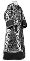 Иподьяконское облачение из парчи ПГ4 (чёрный/серебро)