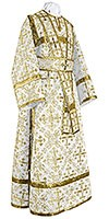 Иподьяконское облачение из шёлка Ш2 (белый/золото)