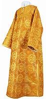 Стихарь клирика из парчи П (жёлтый-бордо/золото)