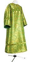 Стихарь клирика из парчи ПГ1 (зелёный/золото)