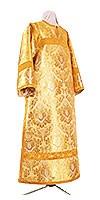 Стихарь клирика из парчи ПГ6 (жёлтый/золото)
