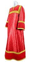 Стихарь алтарника из парчи ПГ4 (красный/золото)