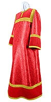 Стихарь алтарника из парчи ПГ6 (красный/золото)