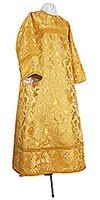 Стихарь алтарника из парчи ПГ6 (жёлтый/золото)