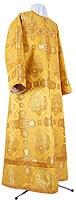 Стихарь детский из шёлка Ш4 (жёлтый-бордо/золото)