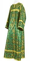Стихарь детский из парчи П (зелёный/золото)
