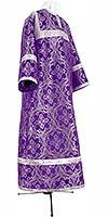 Стихарь детский из парчи ПГ1 (фиолетовый/серебро)
