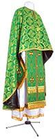 Греческое иерейское облачение из парчи П (зелёный/золото)
