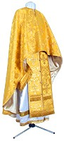 Греческое иерейское облачение из парчи ПГ1 (жёлтый/золото)