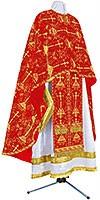 Греческое иерейское облачение из парчи ПГ2 (красный/золото)