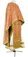 Греческое иерейское облачение из шёлка Ш2 (красный/золото)