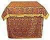 Облачение на престол из парчи ПГ5 (бордовый/золото)