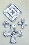 """Вышитые кресты """"Туров"""""""