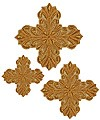 Кресты ручной вышивки №Д155