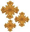 Кресты ручной вышивки №Д163