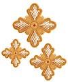 Кресты ручной вышивки №Д170