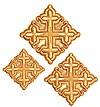 Кресты ручной вышивки №Д172