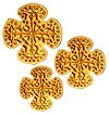 Кресты ручной вышивки №Д187