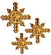 Кресты ручной вышивки №Д192