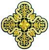 Кресты ручной вышивки №И-023