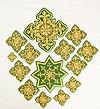 Кресты ручной вышивки №И-040 (иерейский набор)
