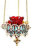 Лампада подвесная ювелирная №25