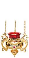 Церковная лампада №34