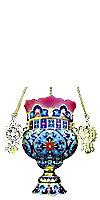 Церковная лампада №6-2