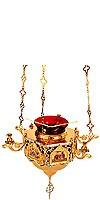 Церковная лампада №3 (с иконами)