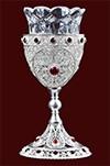 Филигранная подвесная лампада №1-2