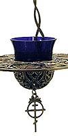 Лампада-тарелка