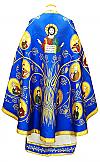 """Греческое облачение священника """"Апостольское древо"""" (синее)"""