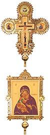 Крест-икона запрестольные №12а