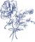 """Мастерская """"Православное узорье"""", вышивка: Контурное изображение цветущего пиона."""