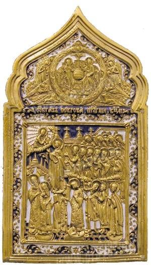 Икона: Покров Пресвятой Богородицы