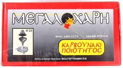 Цековный греческий уголь