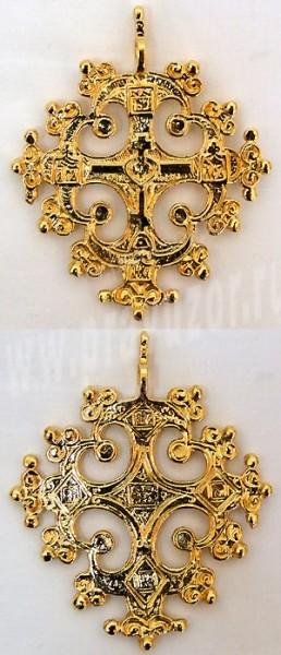Православный нательный крест №27