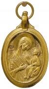 Православный нательный образок: Икона Пресв. Богородицы Иверская