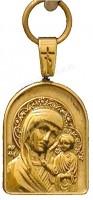 Православный нательный образок: Казанская икона Пресв. Богородицы