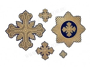 """Вышитые кресты """"Соборные"""""""