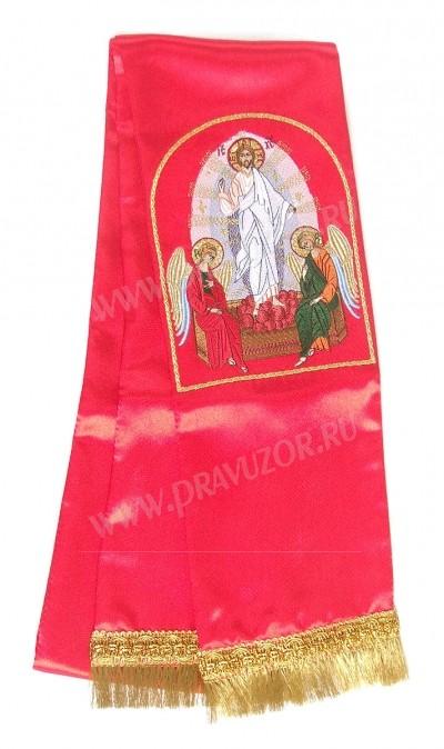 """Вышитая закладка """"Воскресение Христово"""""""