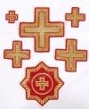 """Набор вышитых крестов """"Ливны"""""""